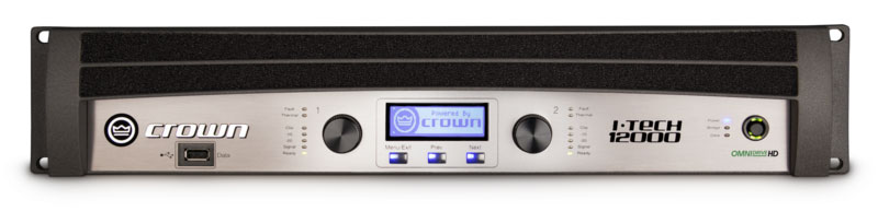 Crown i-Tech 12000HD power amplifiers