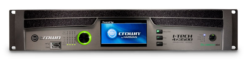 Crown I-Tech 4X5300HD amplifiers
