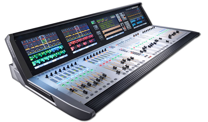 Soundcraft vi3000 mixer